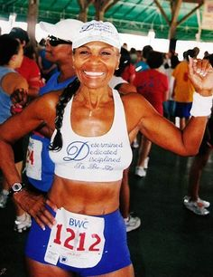 "ERNESTINE SHEPHERD, 77 years old 'It's never too late to start moving!"" #inspiring #fitness"
