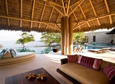 Gwyneth Paltrow | This is Gwyneth Paltrow's luxury celebrity rental in Mexico. La Cruz de Huanacaxtle is a quiet small fisherman town located in the state of Nayarit, north of Puerto Vallarta. | #celebrityhomes #celebritynews #celebrityhouses | See also: http://www.celebrityhomes.eu/
