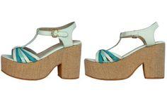 Sandalia Berlín #DeraBassi Color Lab Collection #SS14 #verano14 #zapatos #shoes #sandalia