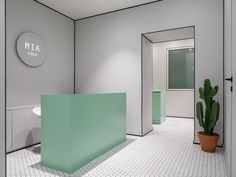 Mia Yoga, Moscow, by Harry Nuriev of Crosby Studios - The Cool Hunter Boutique Interior, Cafe Interior, Shop Interiors, Office Interiors, Commercial Design, Commercial Interiors, Modern Interior Design, Interior Architecture, Office Inspiration