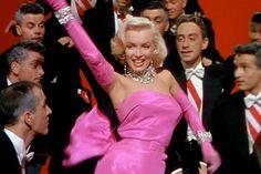 """Marilyn, """"Los diamantes son el mejor amigo de una muchacha"""" de """"Los caballeros las prefieren rubias"""" ///// Marilyn, """"Diamonds Are A Girl's Best Friend"""" from """"Gentlemen Prefer Blondes"""""""
