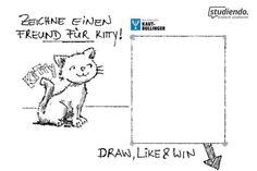 Zeichne-einen-Freund-für-Kitty-Kaut-Bullinger
