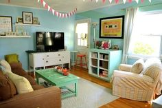 """Erin's """"Happy to be Home"""" Room — Room for Color Contest"""