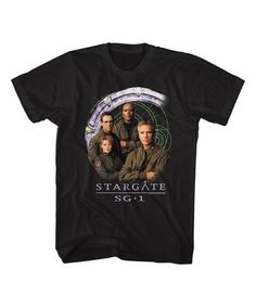 This Black 'Stargate' Cast and Gate Tee - Men is perfect! Mens Tees, It Cast, Movies, Black, Black People, Films, Film Books, Movie