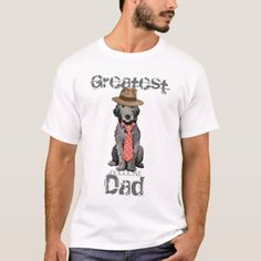 Bedlington Dad T-Shirt   pug puppies, pugsly, pugsley #puglife #socks #mypeoplearebetterthenyourpeople Schipperke Puppies, Dachshund Puppies, Art Beagle, Beagle Dog, Gifts For Father, Fathers, Dad Gifts, American Eskimo Dog, Best Dad