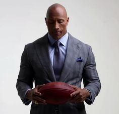 """Dwayne """"The Rock"""" Johnson from Ballers Shoot"""