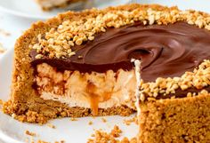 Easy Nutella Salted Caramel Cheesecake 11 Drool-Worthy Salted Caramel Desserts You Need To Eat ASAP Salted Caramel Desserts, Easy No Bake Cheesecake, Salted Caramel Cheesecake, Cheesecake Bites, Cheesecake Recipes, Dessert Recipes, Baking Tins, Baking Recipes, Sweet Treats
