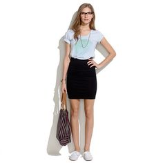 Downtown Skirt - SKIRTS - shopmadewell's Madewell_Shop_By_Category - J.Crew
