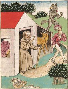 Antonius <von Pforr> Buch der Beispiele der alten Weisen — Oberschwaben, um 1475 Cod. Pal. germ. 466 Folio 160r