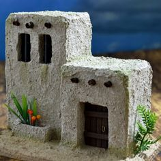 Estructuras – Página 2 – Pesebres Artesanales Clay Houses, Paper Houses, Miniature Houses, Christmas Villages, Christmas Nativity, Christmas Makes, A Christmas Story, Home Crafts, Fun Crafts