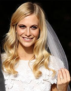 Poppy Delevigne's wedding makeup was pure perfection from Charlotte Tilbury