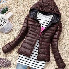 New 2015 Fashion Parkas Winter Female Down Jacket Women Clothing Winter Coat Color Overcoat Women Jacket Parka