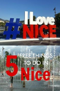 5 Free Things to do in Nice, France with Kids