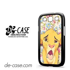 Simba Making Face DEAL-9603 Samsung Phonecase Cover For Samsung Galaxy S3 / S3 Mini