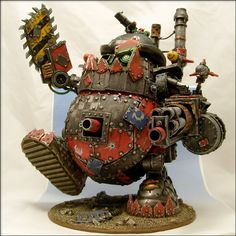 Mr. Potato Head...Warhammer style. Funny :) My hubs is a 40k guy; I'll have to show him this