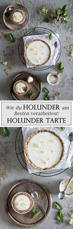 Holunderblüten grandios verarbieten: Holunder Tarte mit Joghurtcreme