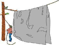 How to put up a camp tarp