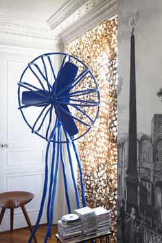 70a28542afe3 Sacha Walckhoff s Paris  apartment  homedesign. Creative Director at  Christian  Lacroix. Parisian