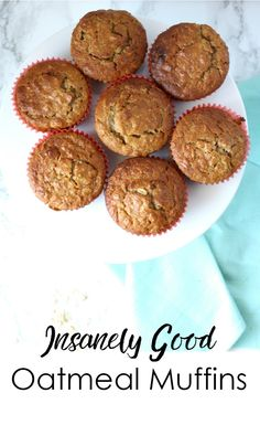 Skinnytaste's Insanely Good Oatmeal Muffins #CulinaryCouncil [ad]