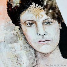 New Art Journal Page on my blog today. - http://scrapmanufaktur.blogspot.ch/2015/11/art-journal-page-mit-dem-dezember-mixed.html?m=1