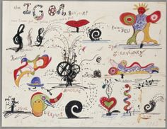 Jean Tinguely & Niki de Saint-Phalle. If you get the chance, visit the Tinguely Museum in Basel.