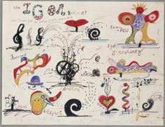 Jean Tinguely; Niki de Saint Phalle Fontaine Stravinsky - Cher Igor, Bonjour! 1983, via Flickr.