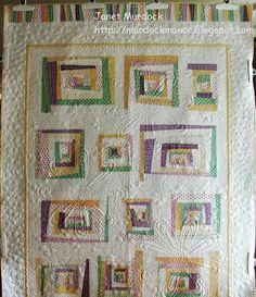 Modern quilt - Rylie's quilt