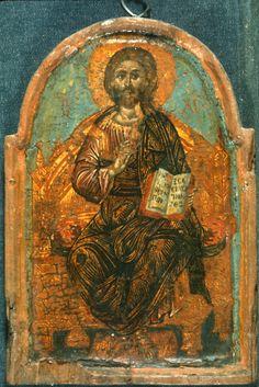 """Christ Pantokrator"", The Sinai Icon Collection, Princeton University"