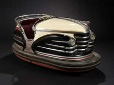 Vintage French Fairground Bumper Car