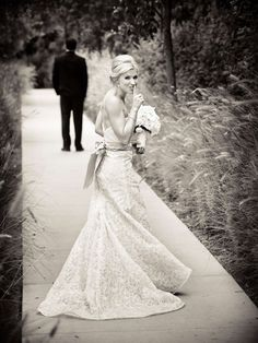 first look photo ideas | First Look - Bride and Groom First Look | Wedding Planning, Ideas ...