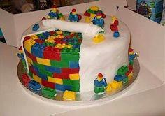 Lego cake, wow!