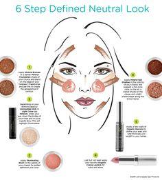 Natural makeup tips using Sheer Minerals Makeup. - Natural makeup tips using Sheer Minerals Makeup. Natural Makeup Tips, Organic Makeup, Natural Products, Lemongrass Spa, Makeup Looks Tutorial, Makeup For Teens, Tips & Tricks, Makeup Guide, Natural Make Up