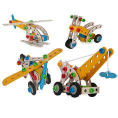 hijskraan van HEROS constructor Sassefras Meisjes Speelgoed
