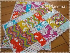 Hey, I found this really awesome Etsy listing at https://www.etsy.com/listing/103124847/pattern-place-mat-tutorial-easy-to-make