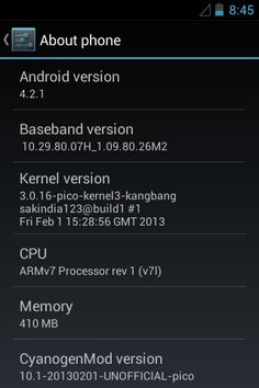 Finally upgraded my HTC Pico to Android 4.2.1 (CyanogenMod 10.1 alpha 5) !!   Enjoying the features like Gesture unlock , Incognito , Themes Support , DSP Equalizer  Smooth ROM Waiting for the final version !! #xda-developers #cyanogenmod
