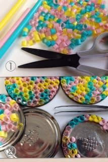 Arts And Crafts Advice To Get Started Today Diy Home Crafts, Easy Crafts, Crafts For Kids, Arts And Crafts, Diy Wool Felt, Diy Storage Containers, Diy Straw, Plastic Straw Crafts, Free To Use Images