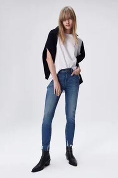 Lo más nuevo para mujer | ZARA Honduras Minimal Classic Style, Thrifting, Zara, Normcore, Skinny Jeans, Pants, Outfits, Fashion, Trouser Pants