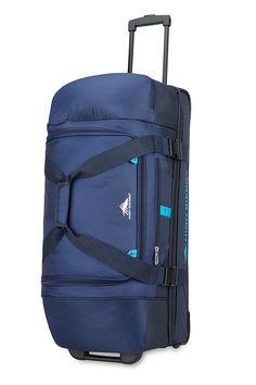 High Sierra Evolution 30-Inch Drop Bottom Wheeled Duffel Bag f955ec5547986