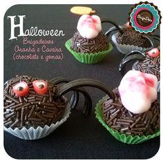 Sweet Halloween 2014 - Brigadeiros de chocolate & gomas