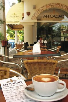 Best cafe and chocolate stop in Playa del Carmen