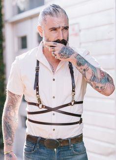 Sheehan & Co. Leather Waist Wrap Harness