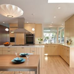 Light Maple Floors Modern Design Ideas, Pictures, Remodel, and Decor