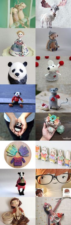Tiny little creatures by Andreia on Etsy--Pinned with TreasuryPin.com