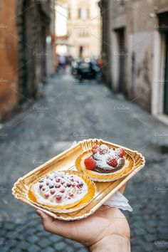 Chocolate & fruit sweet by BORISHOTS on @creativemarket