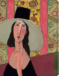 Modigliani Fils Stripe http://www.gallerydirect.com/art/product/kathy-sosa/modigliani-fils-stripe