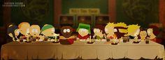 """South Park """"Les 12 apôtres et Jésus"""""""