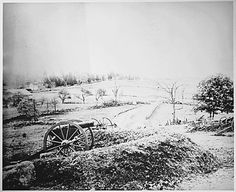Barlows' Knoll after first day's battle, Gettysburg, Pennsylvania, northwest of town.