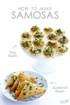 Want! (either way!!) How To Make Baked Samosas (2 Ways!) from @gimmesomeoven.