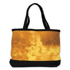 Artistic grungy rust fire Shoulder Bag