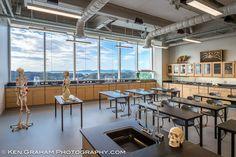 Kodiak High School, Kodiak AK | JYL Architects & DLR Group. Look at those views of this island community.